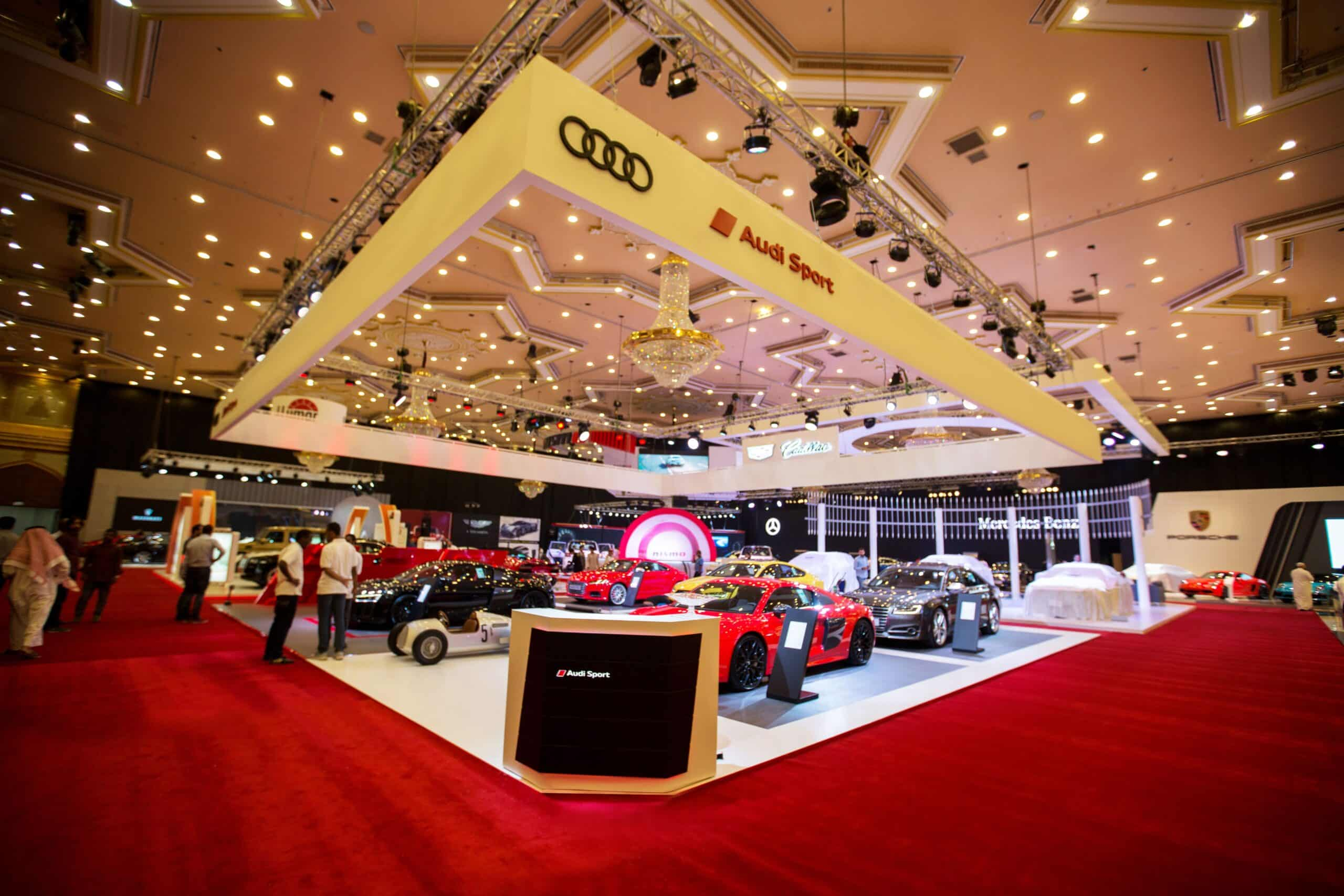 Audi EXCS Exhibition done by MIS