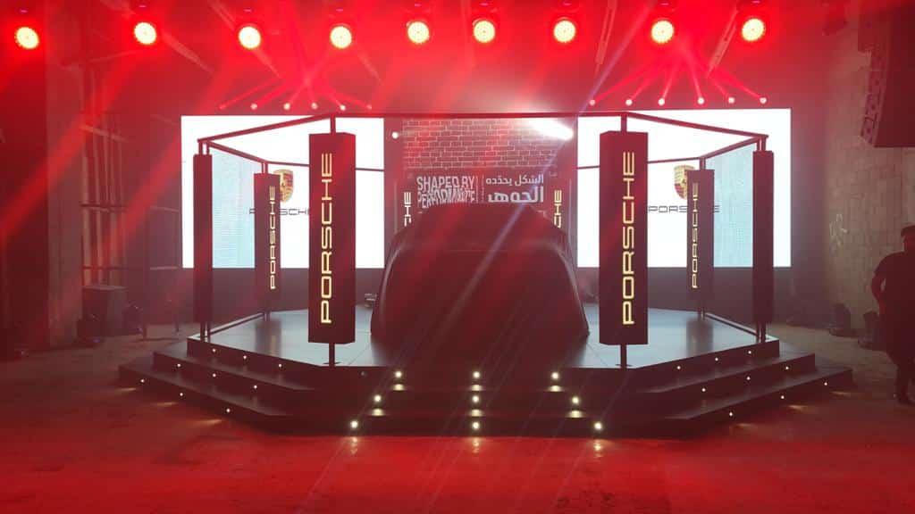 Porsche Car Launch Done by MIS