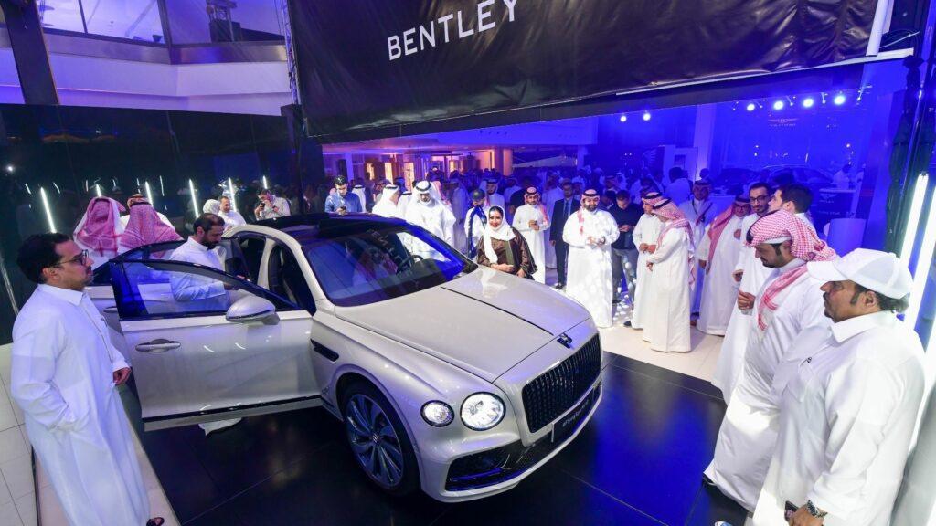 Bentley Flying Flying Spur Launch - MIS