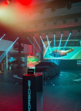 Porsche 911 Launch Event designed by MIS